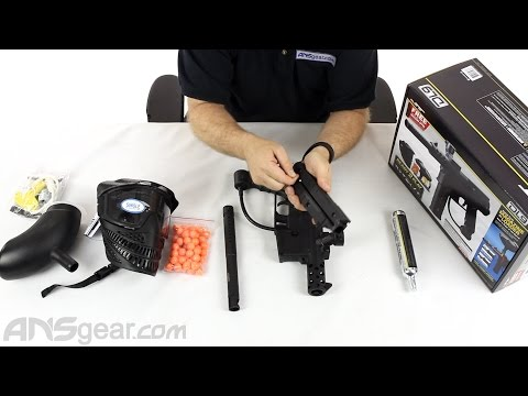JT DL9 Ready To Play Paintball Gun Kit - Review