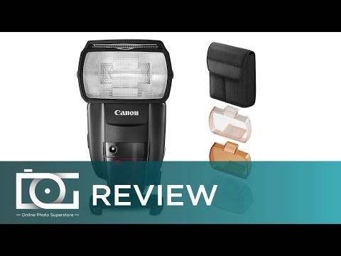 Canon Flash: Canon Speedlite 600EX II-RT   HSS 1st. 2nd Curtain Sync   Canon Flash for DSLR   REVIEW