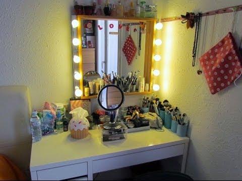 Mi tocador colecci n de maquillaje 2014 youtube for Tocador profesional