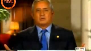 Resumen de la Entrevista a Otto Pérez Molina Conlcusiones CNN