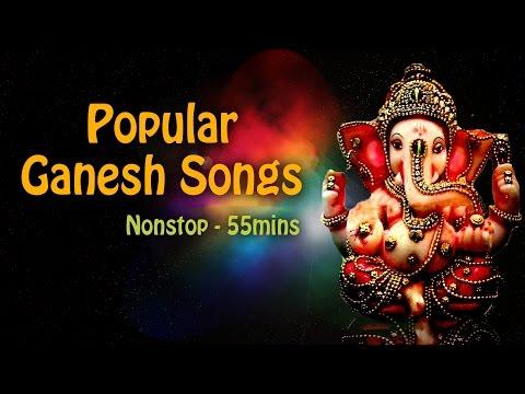Popular Ganesha Songs   Ganesh Chaturthi 2017 Songs   Nonstop Ganpati Bhajans
