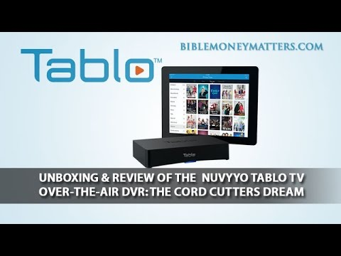 Unboxing & Review Of The  Nuvyyo Tablo TV Over-The-Air DVR: The Cord Cutters Dream