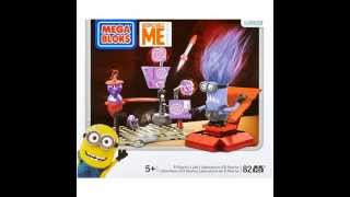 Despicable Me Mega Bloks Sets: Line Release Quick Clip