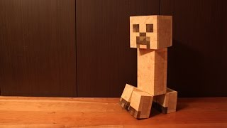 Can we Make a Minecraft Creeper with 880 Cubes? YES...