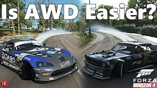 Forza Horizon 4: RWD vs AWD Drifting | Is AWD Really Easier/Better?