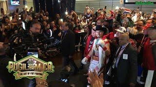 Mikey Garcia Ring Entrance To Fight Errol Spence Jr | Great Night Of Fights | Pugilism Company