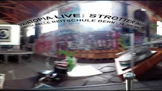 P.O.T.* movie of Strotter Inst @ Squatopia, Grosse Halle Bern, 14.6.18