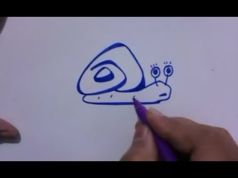 How Snails How to Draw Turbo Snail