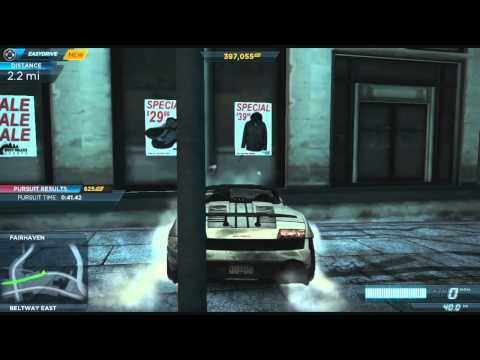 Need For Speed: Most Wanted - Gameplay Walkthrough Part 14 (NFS001)