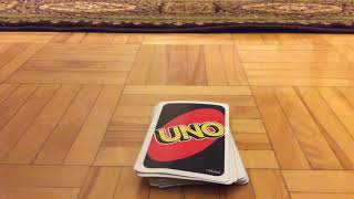 Easy uno card trick