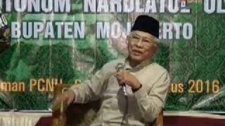 Gus Mus ( KH Mustofa Bisri ) 08 /2016 ; Kebangsaan, Nasionalisme & Dunia butuh NU ; Otokritik
