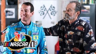 Kyle Busch reflects on the impact his father has had on his career | Motorsports on NBC