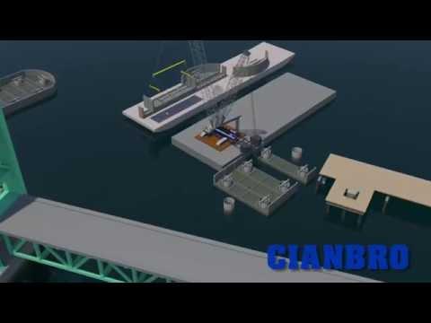 Sarah Mildred Long Bridge 3D Build Sequence Animation