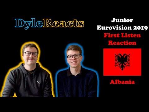 Junior Eurovision 2019 - Albania - REACTION #DyleReacts