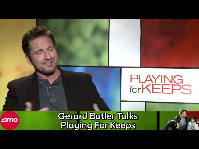 Gerard Butler Talks Playing For Keeps Press (Interview)