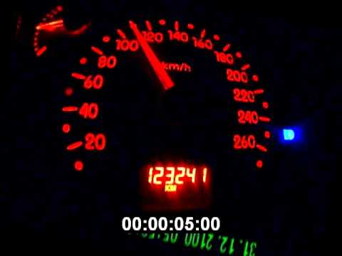 Renault Sport Clio 2 RS1 – Tests accelerations 18-09-2011 -