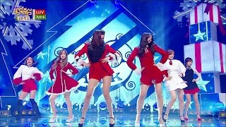 TVPP Apink LUV Christmas Special Show Music Core Live