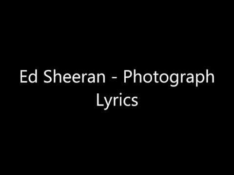 Lirik lagu photograph (ed sheeran)