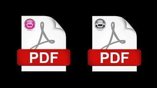 حل مشكلة عدم إمكانية طباعة ملف بي دي اف بكل سهولة و بدون برامج