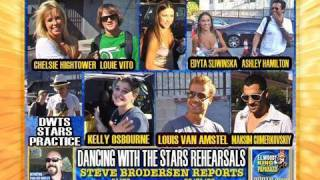 DWTS STARS PRACTICE OVER LABOR DAY HOLIDAY