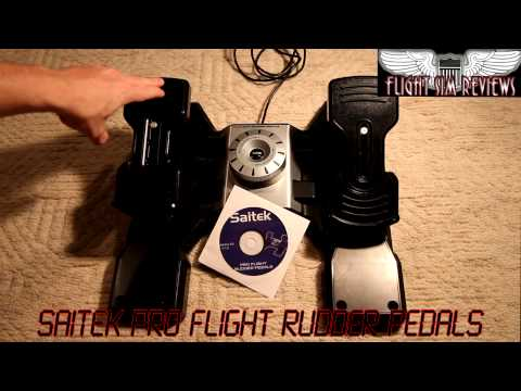 Saitek Pro Flight Rudder Pedal Review