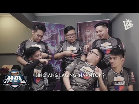 MOBILE LEGENDS PINOY PRO PLAYERS | AETHER MAIN