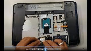 DELL LATITUDE E5420,WIRELESS WLAN CARD REMOVING OR REPLACEMENT.