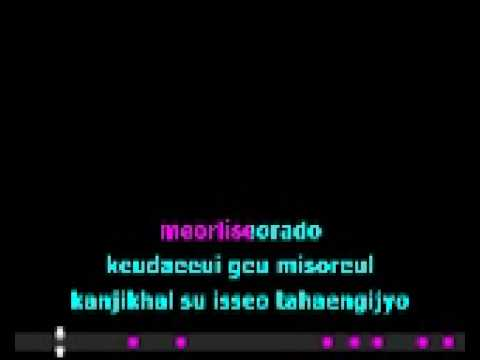 Lucky - Ashily (romanized karaoke/instrumental w/ lyrics)