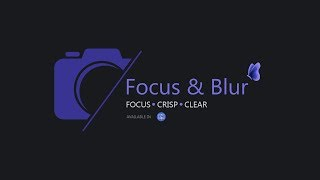 Focus & Blur - Application for Mac OSx | Highlight What's Important In Your Photos! | After Focus