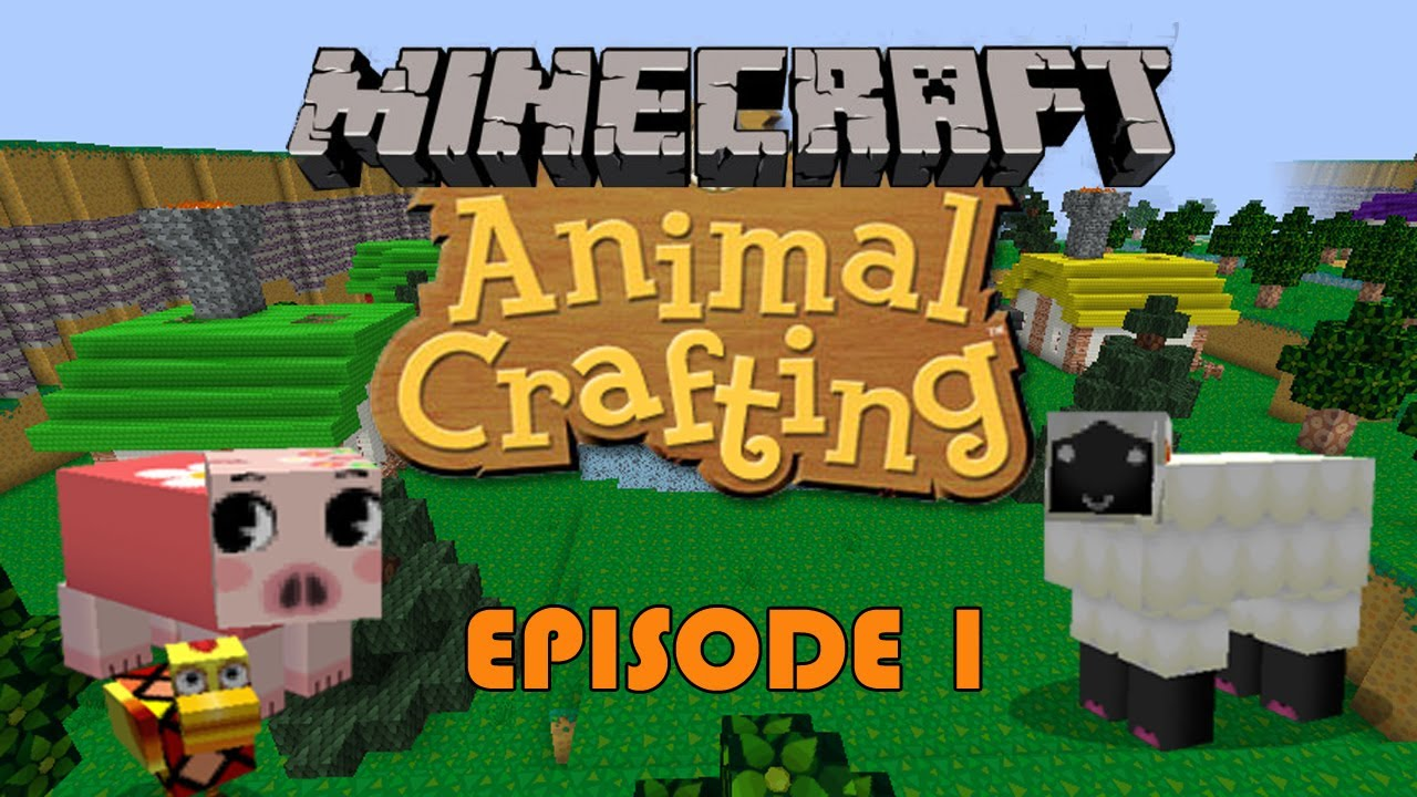 Minecraft Animal Crossing