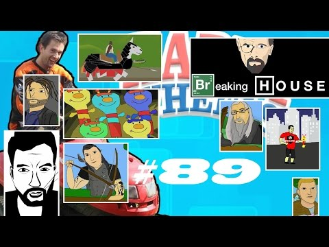 Happy Wheels #89 KaŻdy Jest Kowalem Swojego Sosu (roj-playing Games!) video
