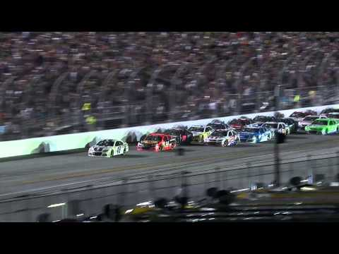 HUGE Wrecks in the Final Laps at Daytona! | Coke Zero 400, 2013