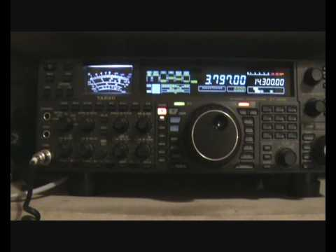 Yaesu FT2000 In Action on 80m