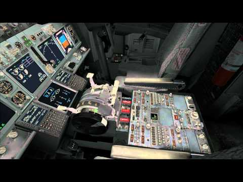PMDG 737 NGX - Interior Lighting Demo