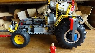 LEGO Mindstorms - RC tractor with 3 speed gearbox