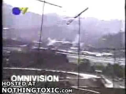 persecucion aerea en venezuela de F-16 VS avioneta con final catastrofico
