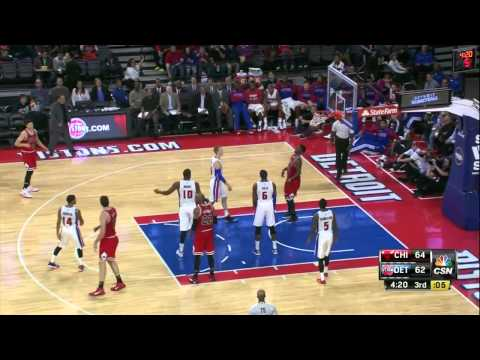 Chicago Bulls vs Detroit Pistons   Full Highlights   October 7, 2014   NBA 2014 2014 Preseason 2014