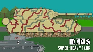 The Maus SuperHeavy Tank