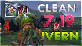 Clean Ivern vs Rammus Gameplay and Commentary Patch 7.19 (League of Legends)
