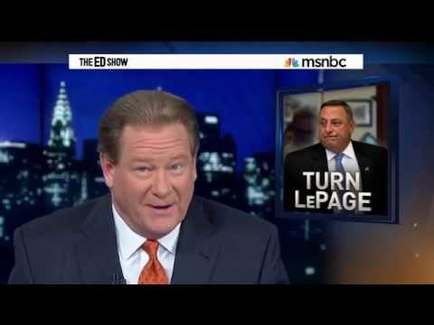 Ed Schultz Slams Maine's Radical Republican Governor Paul LePage