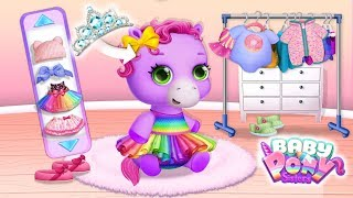 Dress up Time! Baby Pony Sisters - Virtual Pet Care & Horse Nanny | TutoTOONS Cartoons & Kids Games