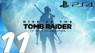 Rise of The Tomb Raider (PS4) - Gameplay Walkthrough Part 11 - The Frozen City