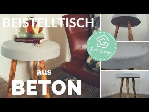 Cool Betontisch Selber Bauen Diy Tisch Aus Beton Deko Betonmbel With