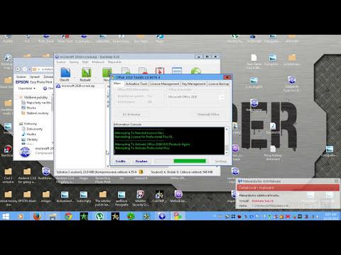 Jak nainstalovat a aktivovat microsoft office 2010