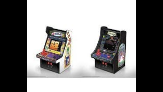 My Arcade: Dig &Dug, Galaga. Not worth buying!