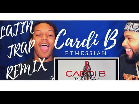 Cardi B - Bodak Yellow Latin Trap Mix feat. Messiah [Official Audio]  | REACTION
