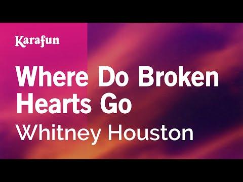 Karaoke Where Do Broken Hearts Go - Whitney Houston *