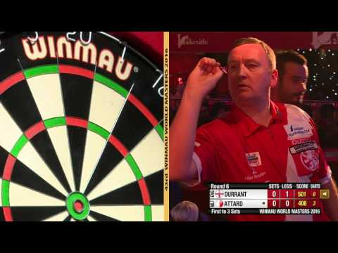Winmau World Masters Men's Last 32