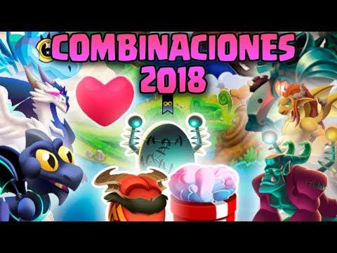 COMO SACAR A TODOS LOS DRAGONES LEGENDARIOS | NUEVOS & VIEJOS | COMBINACIONES 2018 DRAGON CITY