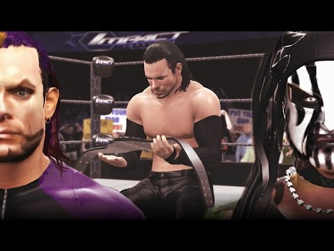 Jeff Hardy Tranforms into Willow The Wisp (Turns Heel) WWE 2K16